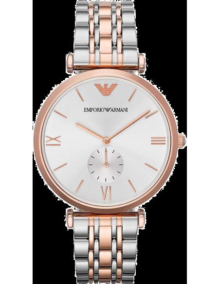 Chic Time   Montre Homme Emporio Armani Classic AR1677 Bracelet Acier Bicolore    Prix : 279,00€