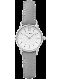Chic Time | Montre Cluse La Vedette CL50013 Bracelet cuir gris  | Prix : 71,96€