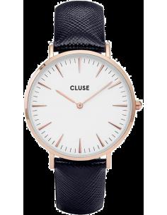 Chic Time | Montre Cluse La Bohème CL18029 Bracelet en cuir noir  | Prix : 62,97€