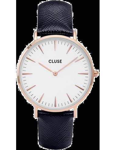 Chic Time | Montre Cluse La Bohème CL18029 Bracelet en cuir noir  | Prix : 58,47€