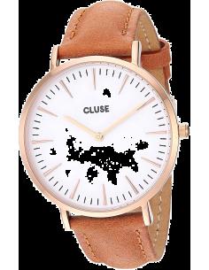 Chic Time | Montre Cluse La Bohème CL18011 Bracelet en cuir brun  | Prix : 76,46€