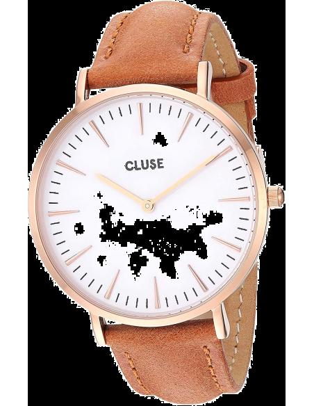 Chic Time | Montre Cluse La Bohème CL18011 Bracelet en cuir brun  | Prix : 58,47€