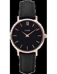 Chic Time | Montre Cluse Minuit CL30022 Rose Gold Black/Black  | Prix : 74,25€