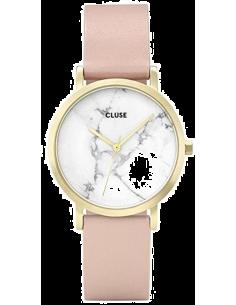 Chic Time | Montre Femme Cluse La Roche Petite CL40101 Rose Pâle  | Prix : 103,35€