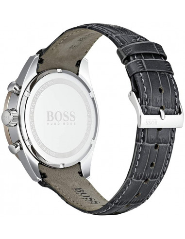 Chic Time   Montre Homme Hugo Boss Trophy 1513628 Gris Anthracite    Prix : 197,40€