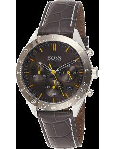 Chic Time | Montre Homme Hugo Boss Talent 1513659 Chronographe Cuir noir  | Prix : 179,40€