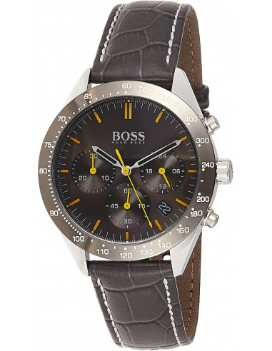 Chic Time | Montre Homme Hugo Boss Talent 1513659 Chronographe Cuir noir  | Prix : 179,40 €