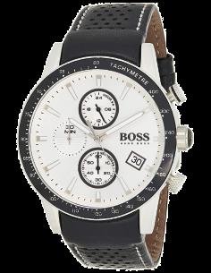 Chic Time | Montre Homme Hugo Boss Rafale 1513403 Cuir Noir  | Prix : 296,65€