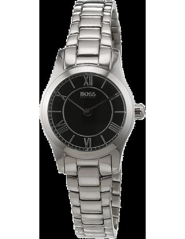 Chic Time   Montre Femme Hugo Boss Ambassador 1502376 Argent    Prix : 203,15€
