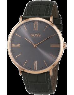 Chic Time | Montre Homme Hugo Boss Jackson 1513372 Bracelet en cuir gris  | Prix : 149,40€