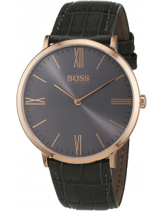 Chic Time | Montre Homme Hugo Boss Jackson 1513372 Bracelet en cuir gris  | Prix : 249,00€