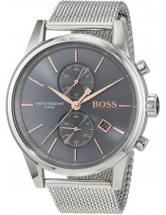 Chic Time | Montre Homme Hugo Boss Jet Chronographe 1513440 Gris Anthracite  | Prix : 279,00 €