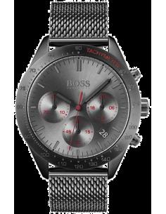 Chic Time | Montre Homme Hugo Boss Talent 1513637 Chronographe gris avec bracelet en mesh  | Prix : 299,00€