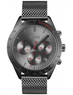Chic Time | Montre Homme Hugo Boss Talent 1513637 Chronographe gris avec bracelet en mesh  | Prix : 299,00 €