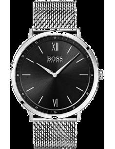Chic Time | Montre Homme Hugo Boss Essential 1513660 bracelet en mesh acier  | Prix : 249,00€