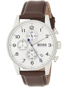 Chic Time | Montre Homme Hugo Boss Navigator 1513495 Brun  | Prix : 299,00€