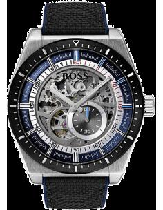 Chic Time   Montre Homme Hugo Boss Signature 1513643 Automatique Squelette    Prix : 599,00€