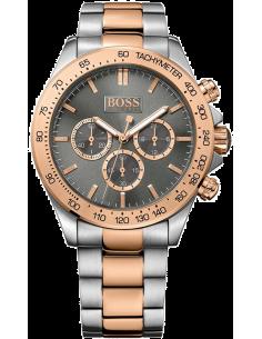 Chic Time | Montre Hugo Boss Ikon 1513339 Bracelet acier et or rose  | Prix : 349,30€