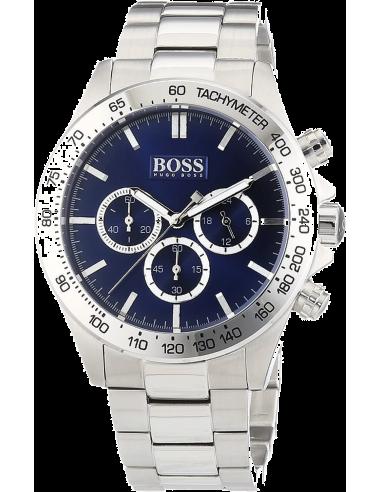 Chic Time | Montre Homme Hugo Boss Sport 1512963 Chronographe à cadran bleu  | Prix : 257,40€