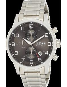 Chic Time | Montre Homme Hugo Boss 1513181 Bracelet en acier argenté  | Prix : 215,40€