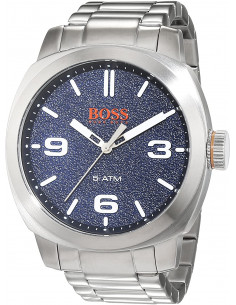Chic Time | Montre Homme Boss Orange Cape Town 1513419 Argent  | Prix : 189,00 €
