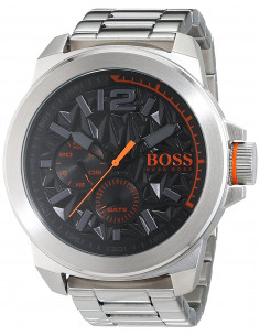 Chic Time | Montre Homme Boss Orange New York 1513406 Argent  | Prix : 249,00 €