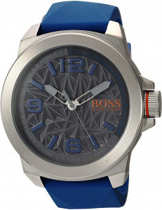 Chic Time | Montre Homme Boss Orange New York 1513355 Bleu  | Prix : 135,15 €