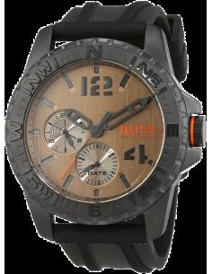 Chic Time | Montre Homme Boss Orange Reykjavik 1513422 Noir  | Prix : 299,00€
