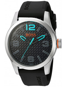 Chic Time | Montre Homme Hugo Boss Boss Orange 1513377 Noir  | Prix : 169,15 €