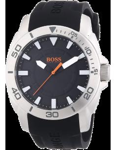 Chic Time | Montre Homme Boss Orange Shanghaï 1512948 Bracelet silicone noir  | Prix : 83,40€