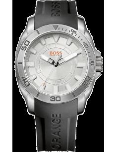 Chic Time | Montre Homme Boss Orange Shanghaï 1512949 cadran argenté  | Prix : 169,15€