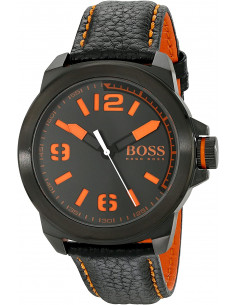 Chic Time | Montre Homme Boss Orange 1513152 Noir Détails orange  | Prix : 194,65 €