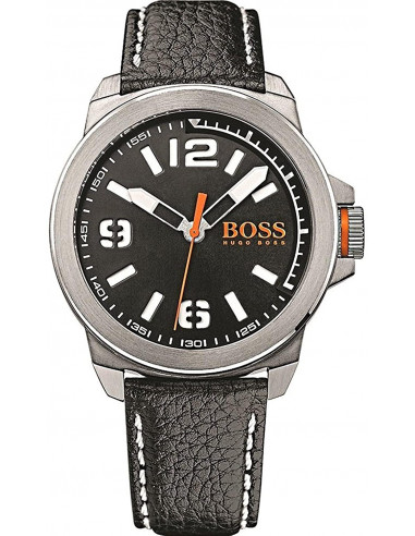 Chic Time | Montre Homme Boss Orange 1513151 Noir  | Prix : 143,65 €