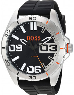 Chic Time | Montre Homme Boss Orange 1513285 Noir  | Prix : 126,65 €