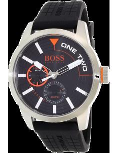 Chic Time | Montre Homme Boss Orange 1513305 Noire Index blancs  | Prix : 211,65€