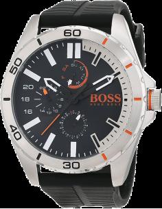 Chic Time | Montre Homme Boss Orange 1513290 Noire Sportif et Multifonction  | Prix : 194,65€