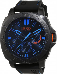 Chic Time | Montre Homme Boss Orange 1513242 Noir  | Prix : 254,15 €