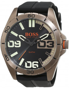 Chic Time | Montre Homme Hugo Boss Boss Orange 1513287 Noir  | Prix : 126,65 €