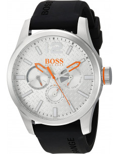 Chic Time | Montre Homme Hugo Boss Boss Orange 1513453 Noir  | Prix : 169,15 €