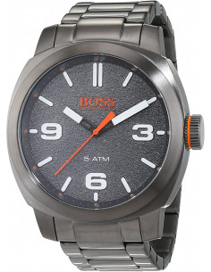 Chic Time | Montre Homme Boss Orange Cape Town 1513420 Noir  | Prix : 219,00 €