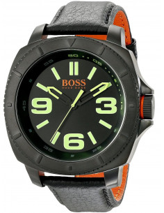 Chic Time | Montre Homme Hugo Boss Boss Orange 1513163 Noir  | Prix : 137,40 €