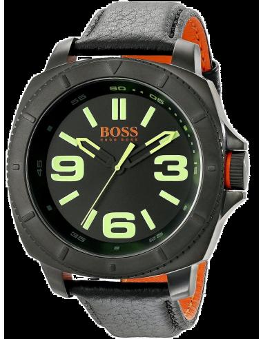 Chic Time   Montre Homme Hugo Boss Boss Orange 1513163 Noir    Prix : 137,40€