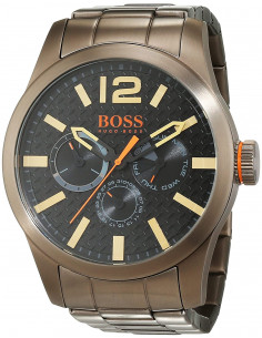 Chic Time | Montre Homme Hugo Boss Boss Orange 1513313 Gris  | Prix : 299,00 €