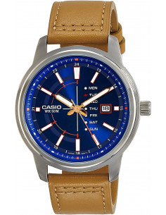 Chic Time | Montre Homme Casio Collection MTP-E128L-2A2V Brun  | Prix : 139,00 €