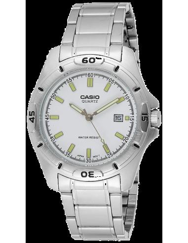 Chic Time | Montre Homme Casio MTP-1244D-7ADF Argent  | Prix : 47,20€