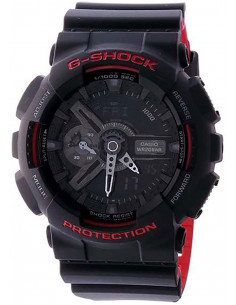 Chic Time | OUTLET - Montre Homme Casio G-Shock GA-110HR-1AER Noir  | Prix : 139,00 €