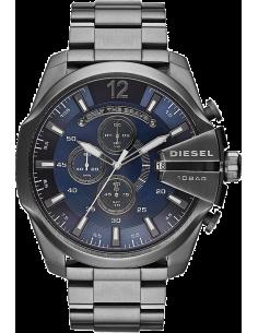 Chic Time | Montre Homme Diesel Mega Chief DZ4329 Bracelet anthracite en acier  | Prix : 199,20€