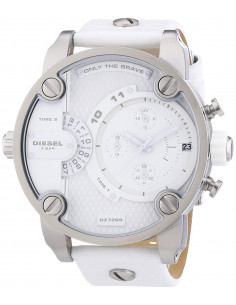 Chic Time | Montre Homme Diesel Super Bad Ass DZ7265 Blanc  | Prix : 242,90 €