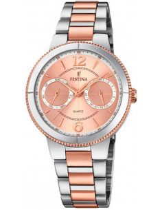 Chic Time | Montre Femme Festina Boyfriend F20207/2 Or Rose  | Prix : 149,00 €
