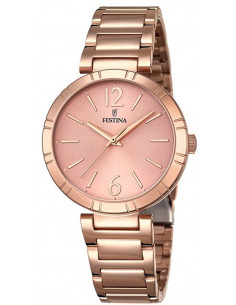 Chic Time | Montre Femme Festina Mademoiselle F16939/1 Or Rose  | Prix : 139,00 €